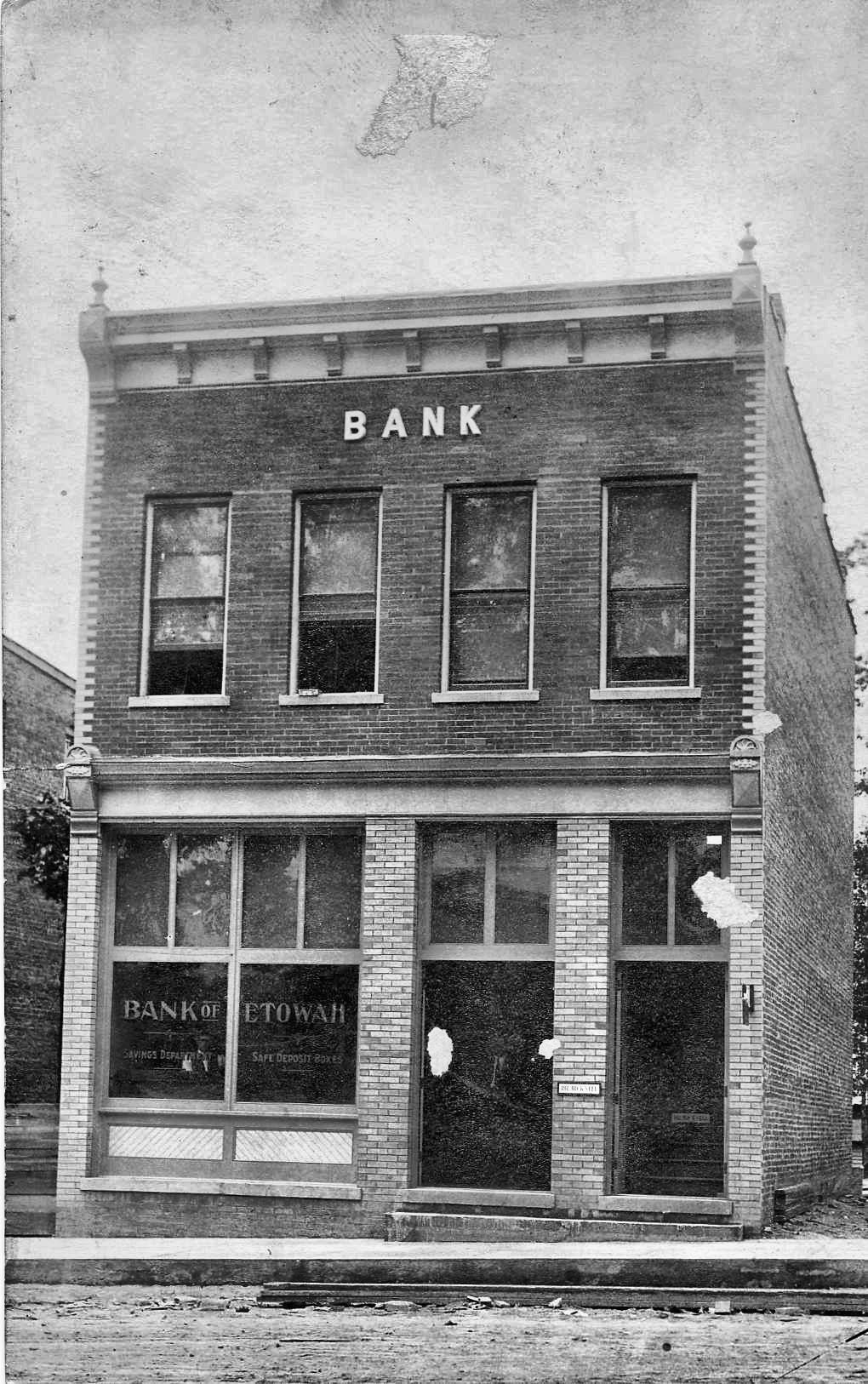 Bank of Etowah  1911  - Copy - Copy - Copy