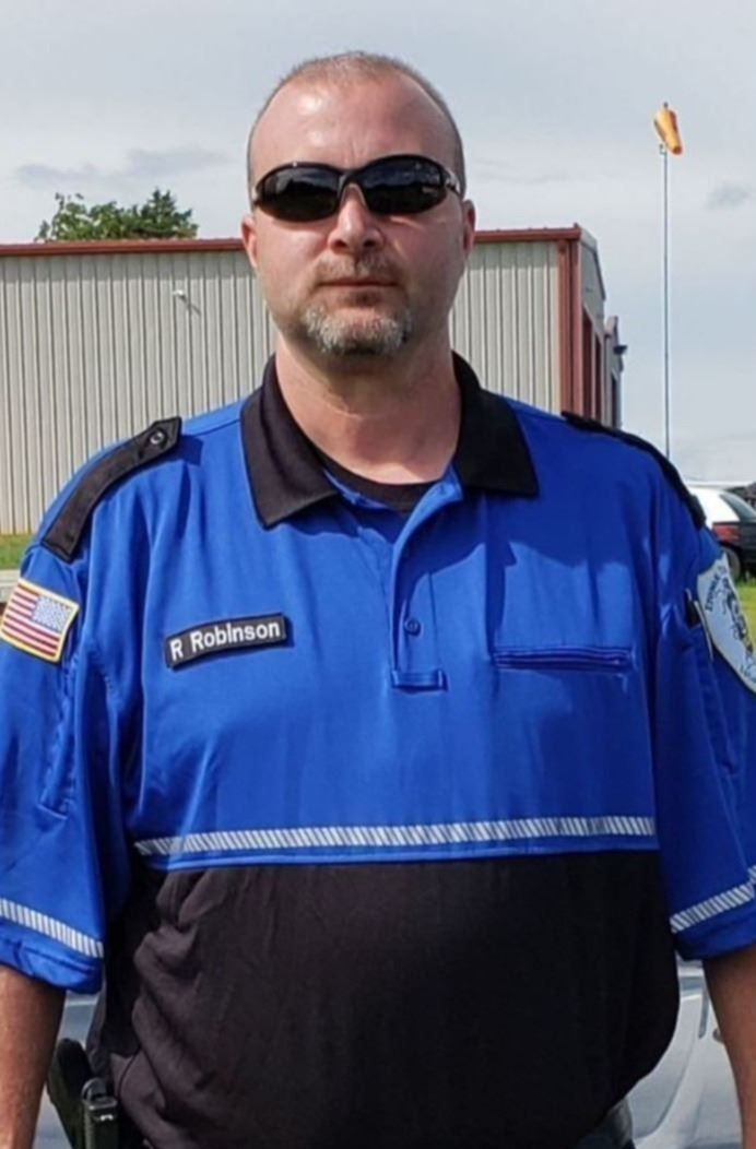 Patrol Supervisor Richard Robinson