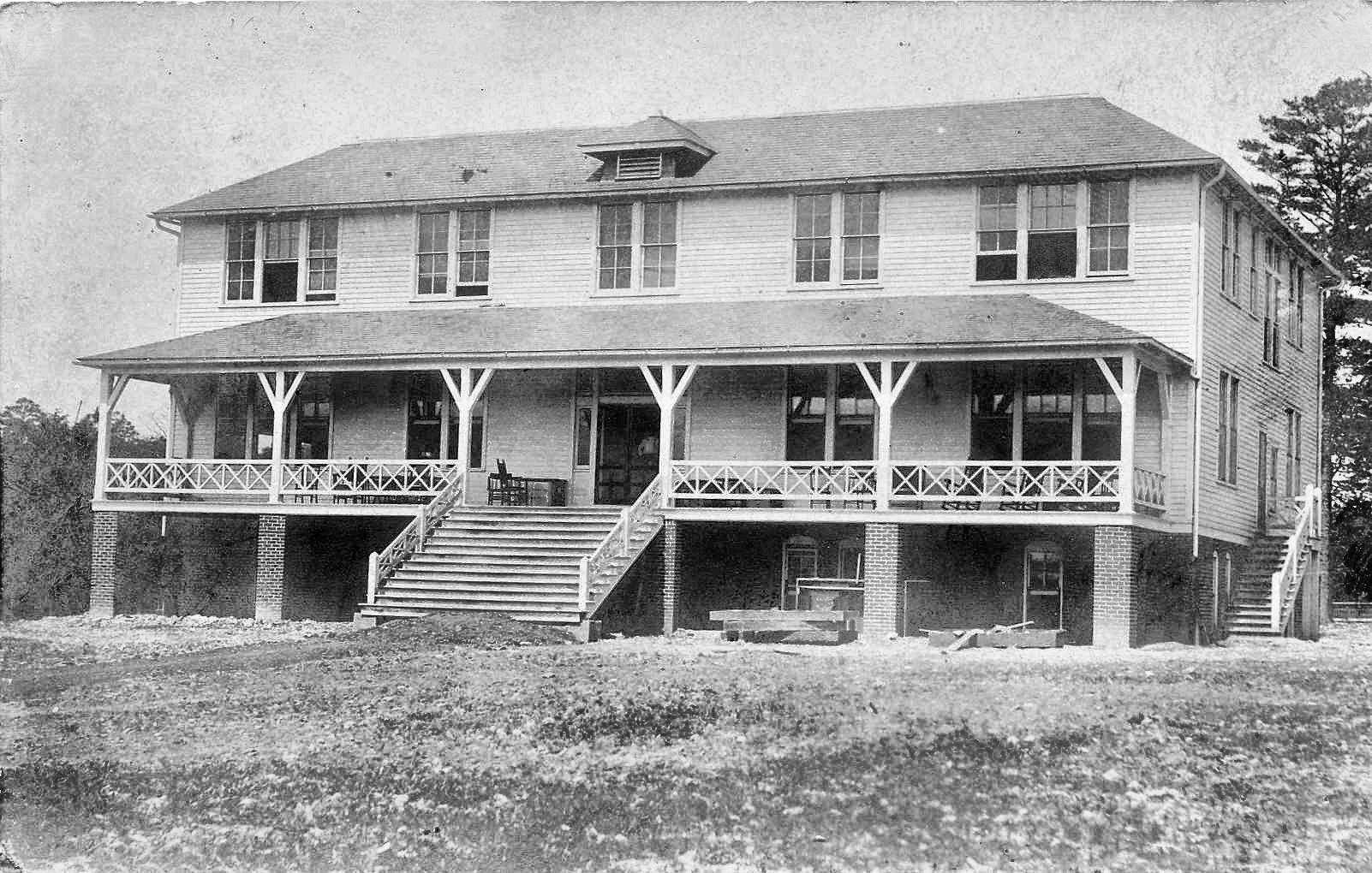 YMCA brought to Etowah 1906. built in 1910. BW