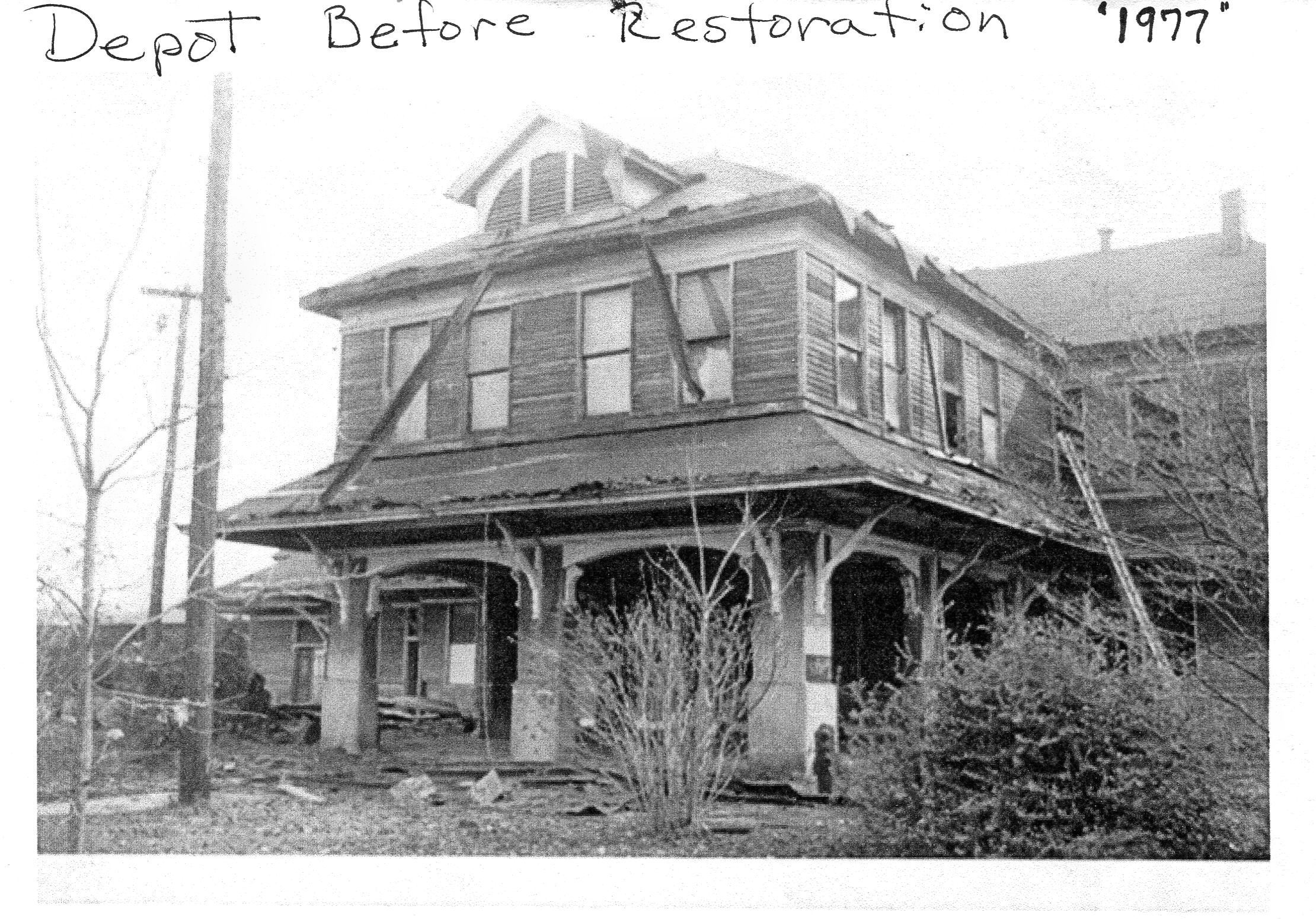 Restore L and N Depot before restoration  1  1977